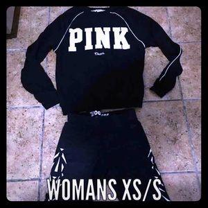 ⏳like new VS pink sweater + Nike leggings